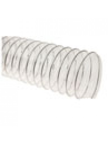Прозрачный полиуретановый шланг длиной 10м, ø100мм, стенка 0,5мм
