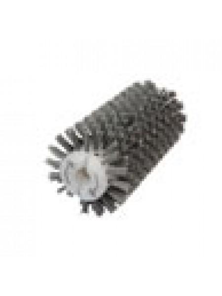 Брашировальная щетка валик Ø130х410 мм, ворс полимерно-абразивный P80