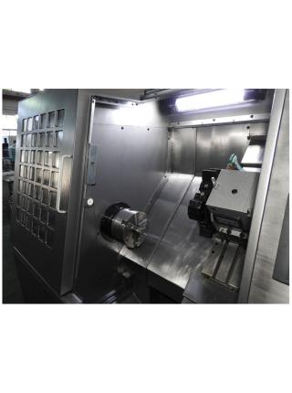 JET Компактный токарный станок с ЧПУ с наклонной станиной и направляющими качения