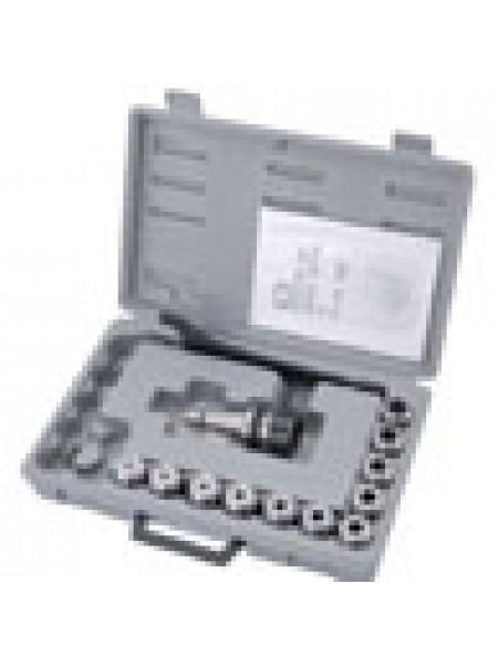 Цанговый патрон МК-3 с набором цанг ER-40 на 6, 8, 10, 12, 16, 20, 25 мм