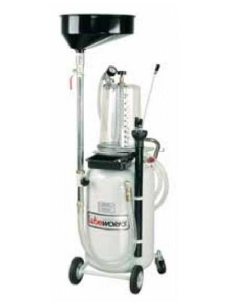 2-в-1 пневматический экстрактор с колбой LubeWorks