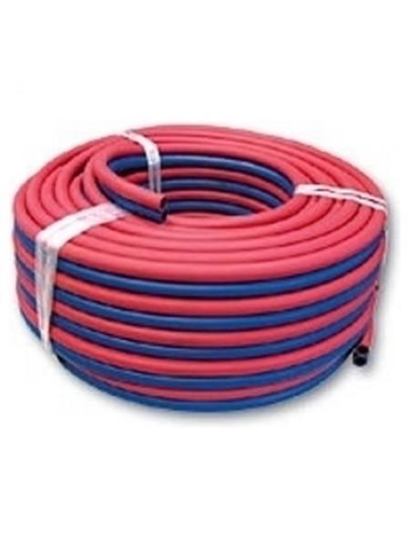 Рукав спаренный кислород/ацетилен ф 6,3 мм (синий/красный)